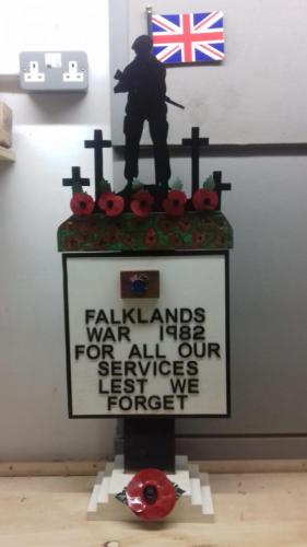 Veterans Club Falklands War commission