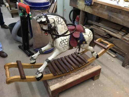 Traditional Handmade Rocking Horse