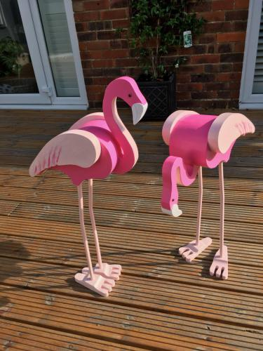 Flamingo Garden Ornaments