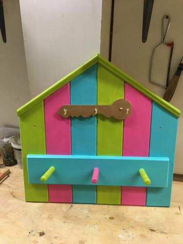 Beach Hut Key/Coat Hook
