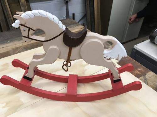 Painted Rocking Horse (Child aged 3-4)