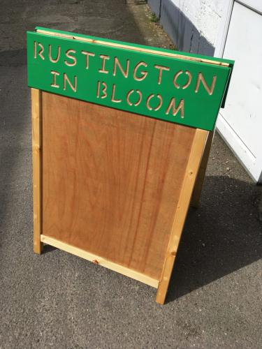 Notice Board for Rustington in Bloom